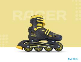 "Inline skates ""Racer"" zwart/geel"