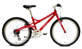 "LIKEtoBIKE tiener-fiets 24"" rood"
