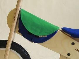 Frametasje LIKEaBIKE blauw/mei-groen