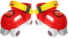 Verstelbare Rolschaatsen Disney Cars + beschermers