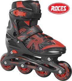"""Inline skates """"Jokey 3.0"""" zwart/rood"""