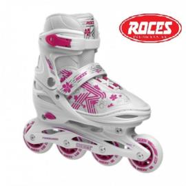 """Inline skates """"Jokey 3.0"""" wit/roze"""
