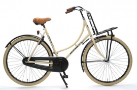 "Dames-fiets 28"" Burgers ""PickUp"" N3 wit/zwart 53cm"