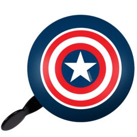 "Fietsbel retro Marvel ""Captain America"""