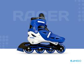 """Inline skates """"Racer"""" blauw/wit"""