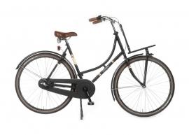 """Dames-fiets 28"""" Burgers """"PickUp"""" N3 mat zwart 53cm"""