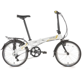 "Vouwfiets ""Vybe C7A"" frost white"