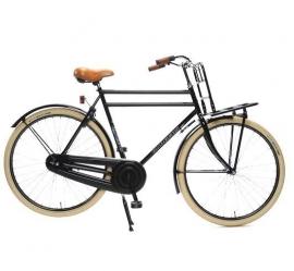 """Tiener-fiets 26"""" Burgers """"PickUp"""" mat-zwart"""