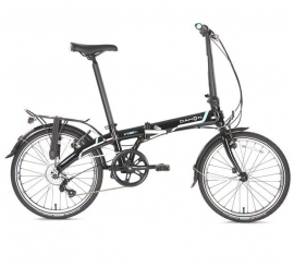 "Vouwfiets ""Vybe C7A"" obsidian black"