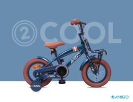 """Jongensfiets 12"""" Amigo """"2 COOL"""" blue"""