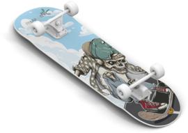 """Houten Skateboard """"Skull"""""""