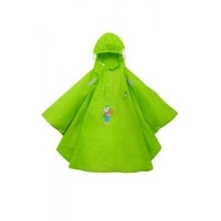 """Regen Poncho """"Kikker & zijn vriendjes"""" groen"""