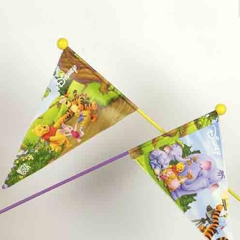 """Veiligheidsvlag """"Winnie de Pooh"""""""