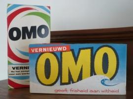 """OMO """"geeft frisheid aan witheid"""" VERKOCHT"""