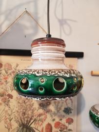 Vintage hanglampjes set
