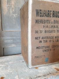Blik Welfare biscuits WO2
