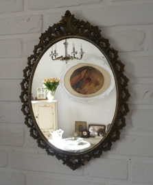 Brocante spiegel VERKOCHT