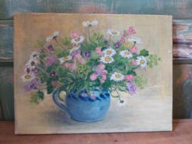 Vintage bloemenlijst