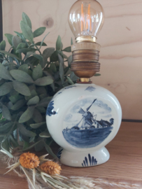 Vintage Delfts blauw lampje