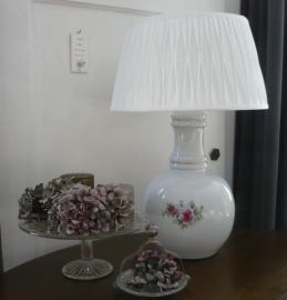 Porselein lamp VERKOCHT
