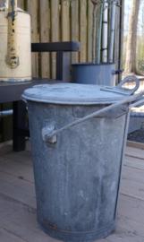 Zinken vuilnisemmer Noordwijkerhout