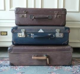 Oude bruine koffer VERKOCHT