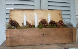 Brocante houten kistje