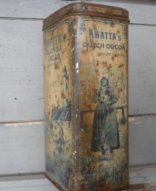Kwatta cacao blik VERKOCHT