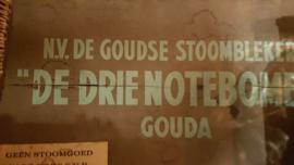 Oude stomerij doos,  de drie Notenboom, Gouda