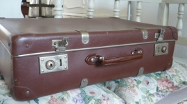 Brocante koffer VERKOCHT