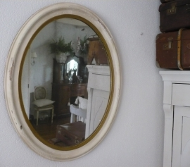 Oude spiegel VERKOCHT