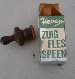 Oude zuigfles speen VERKOCHT