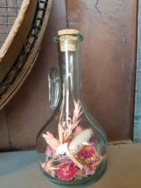 Droogbloemen in fles 11