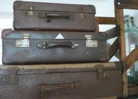 Oude koffer (middel) VERKOCHT