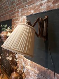 Vintage schaar lamp Harmonicalamp