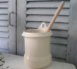 Porselein toiletborstelhouder