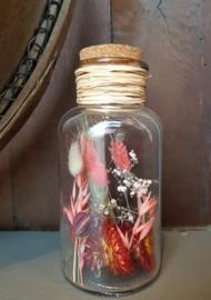 Droogbloemen in fles 4