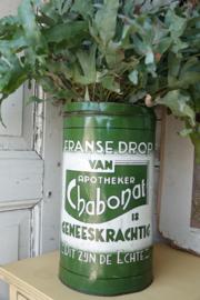 Chabonat blik, Franse drop