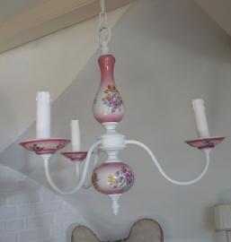 Brocante lamp VERKOCHT