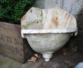 Brocante gietijzer fontein VERKOCHT