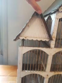 Antieke vogelenkooi