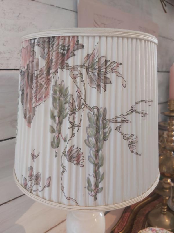 Vintage onyx lamp