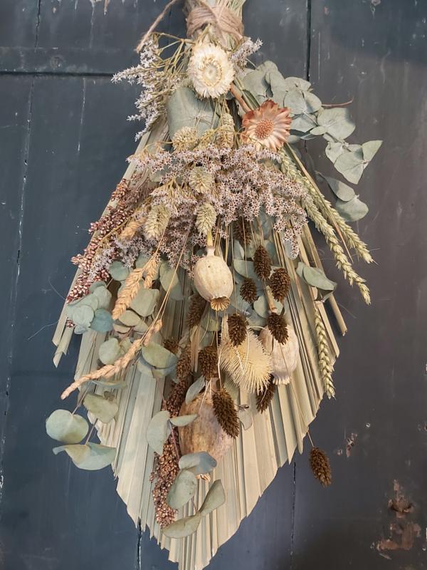 Palmtoef droogbloemen