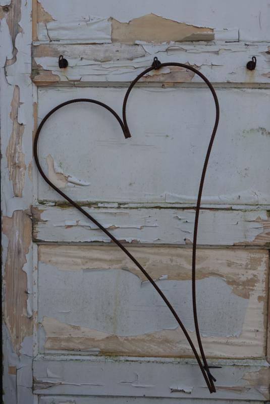 Smeedijzer hart frame