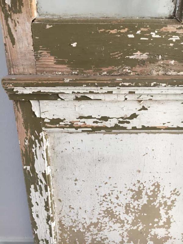 Oude Franse deur