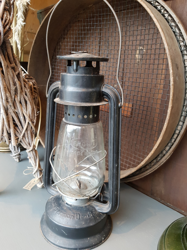 Oude stormlamp