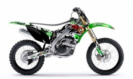 FLU Kawasaki Race team kit Unbound