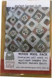 Market Garden Quilt & Woven Wool pack