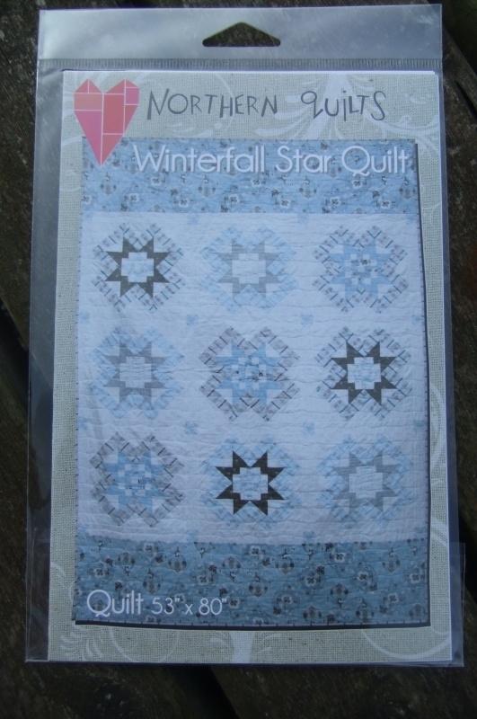 Winterfall Star Quilt.