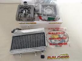MALOSSI LC SET(KOP+DECO)+RADIATEUR CHROOM